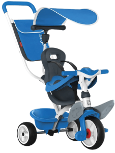 tricycle évolutif bleu