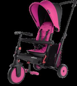 tricycle rose et noir