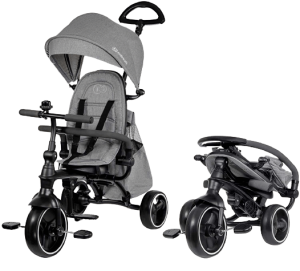 tricycle Smartrike gris pliable