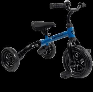 tricycle bleu et noir
