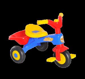 jouet tricycle multicolore en plastique