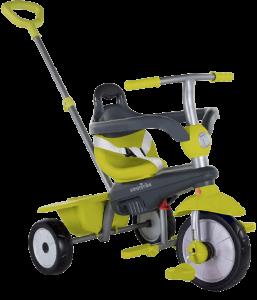 tricycle en plastique de couleur vert claire