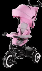 tricycle évolutif rose et noir