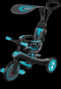 tricycle pour enfant bleu et noir